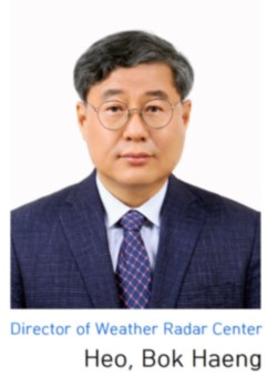 Director of Weather Radar Center Kwon Tae Soon